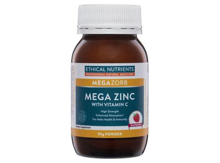 Ethical Nutrients MEGAZORB Mega Zinc - 95g Powder