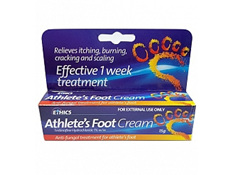 ETHICS Athlete's Foot Cream 15g