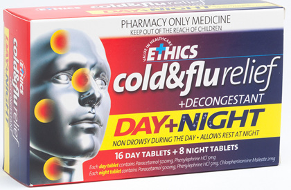 Ethics Cold and Flu Day and Night Tablets 24s