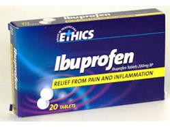 ETHICS Ibuprofen 200 mg (20 Tablets)