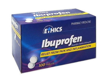 ETHICS IBUPROFEN 200MG 100T