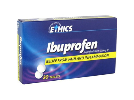 ETHICS IBUPROFEN 200MG 20T