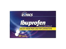 ETHICS Ibuprofen 200mg F/Coat 20tab