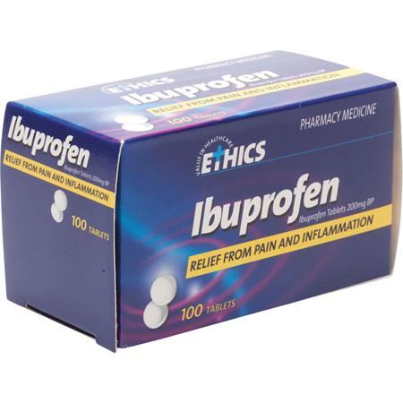 Ethics Ibuprofen Tablets 100