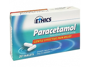 ETHICS Paracetamol 500 g (20 Tablets)