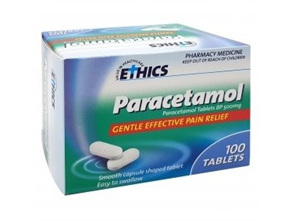 Ethics Paracetamol 500 mg (100 Tablets)