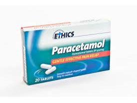 ETHICS Paracetamol 500mg 20 RS tab