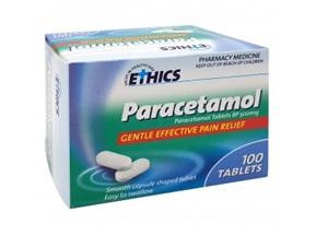 Ethics Paracetamol 500mg Tablets 100