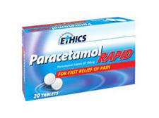 ETHICS Paracetamol Rapid 20 Caplet