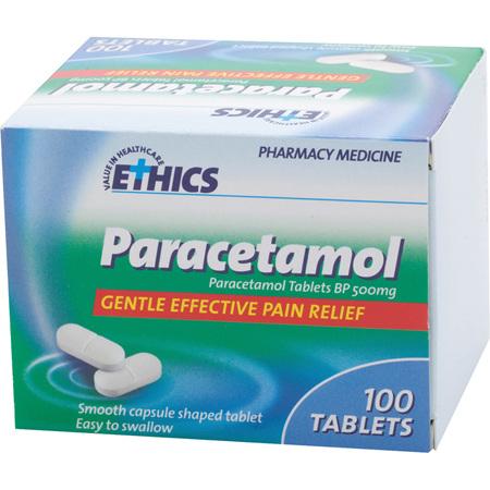 Ethics Paracetamol Tablets 100