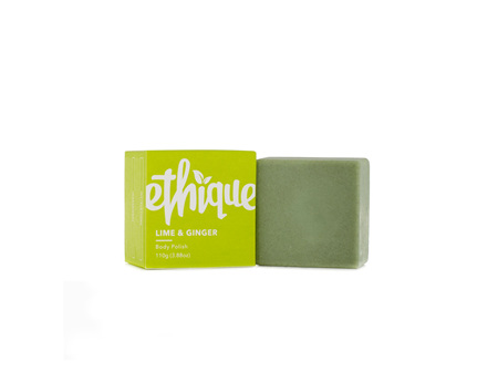 Ethique Body Polish Lime & Ginger 100g