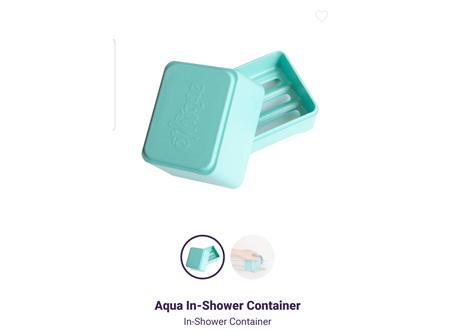 ETHIQUE B&S In-Shower Container Aqua