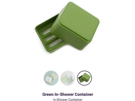 ETHIQUE B&S In-Shower Container Grn
