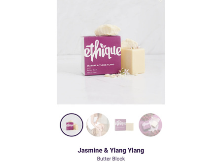 ETHIQUE Butter Block Jas&Ylang 100g