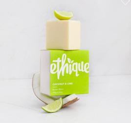 Ethique Coconut & Lime Butter Block 100 grams