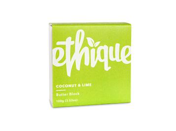 Ethique Coconut & Lime Butter Block