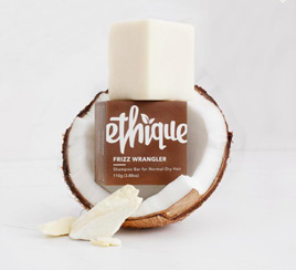 Ethique Frizz Wrangler Shampoo for Dry &/or Frizzy Hair 110 grams