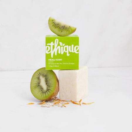 Ethique Heali Kiwi Shampoo Bar