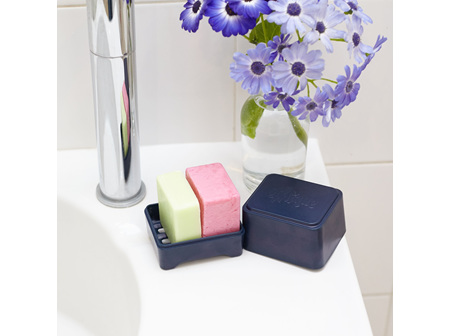 ETHIQUE In-Shower Container Navy