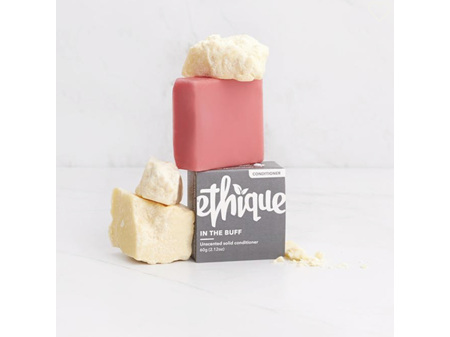 Ethique In the Buff Unscented Solid Conditioner 60g
