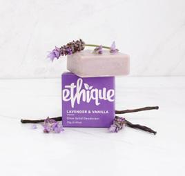 Ethique Lavender & Vanilla Glow Solid Deodorant 70 grams