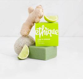 Ethique Lime & Ginger Body Polish Body Scrub & Exfoliator 110 grams