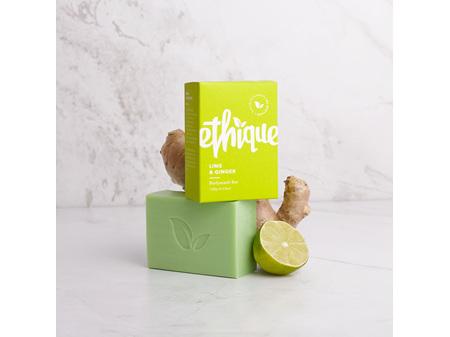 Ethique Lime & Ginger Solid Bodywash Bar 120g