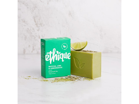 Ethique Matcha, Lime and Lemongrass Bodywash Bar