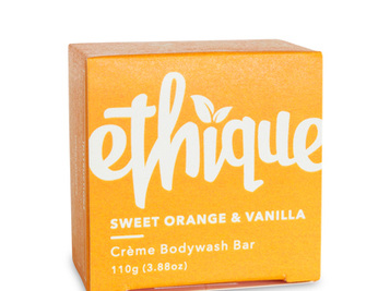 Ethique Orange and Vanilla Bodywash Bar