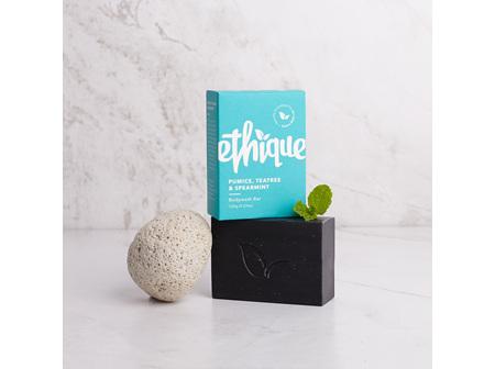 ETHIQUE Pumice, Spearmint & Tea Tree Body Wash Bar 120g