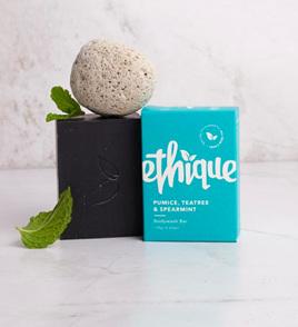 Ethique Pumice, Tea Tree & Spearmint Bodywash 120 grams