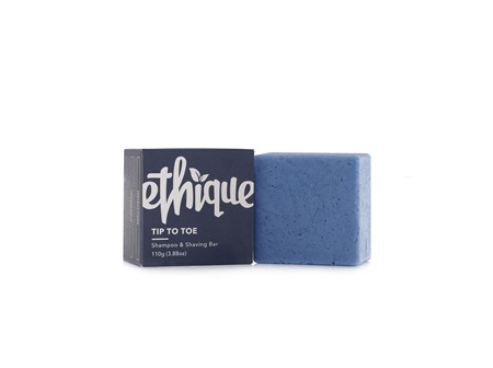 Ethique Shampoo Bar Tip-to-Toe 110g