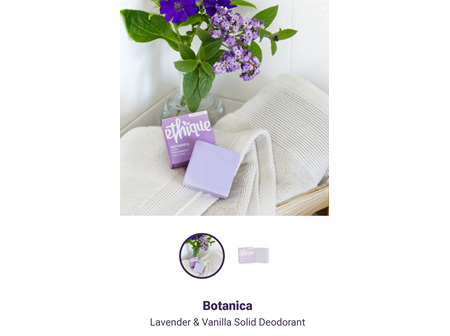 ETHIQUE Solid Deodorant Botanica 70g