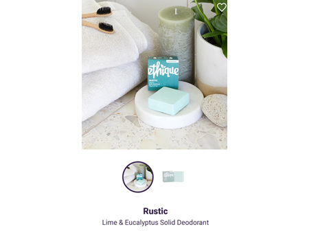 ETHIQUE Solid Deodorant Rustic 70g