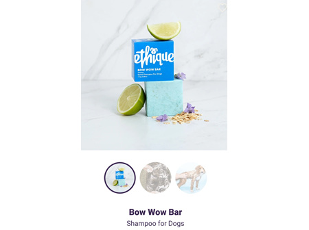 ETHIQUE Spoo Bar Dogs Bow Wow 110g