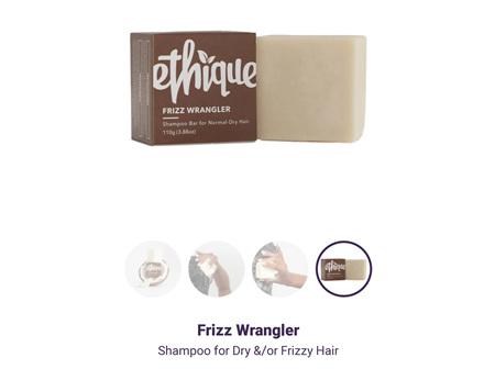 ETHIQUE Spoo Bar Frizz Wranglr 110g