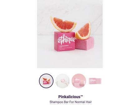 ETHIQUE Spoo Bar Pinkalicious 110g