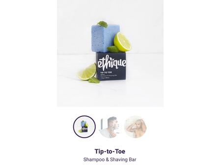 ETHIQUE Spoo Bar Tip-to-Toe 110g