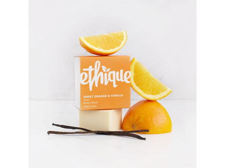 Ethique Sweet Orange and Vanilla Butter Block Bar