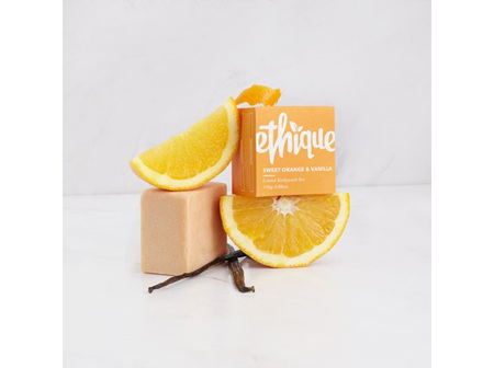 Ethique Sweet Orange and Vanilla Creme Bodywash Bar