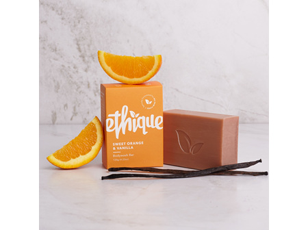 ETHIQUE Sweet Orange & Vanilla Body Wash Bar 120g