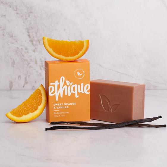 Ethique Sweet Orange & Vanilla Bodywash