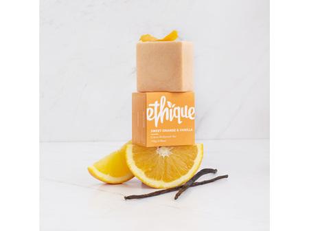 ETHIQUE Sweet Orange & Vanilla Creme Body Wash Bar  110g