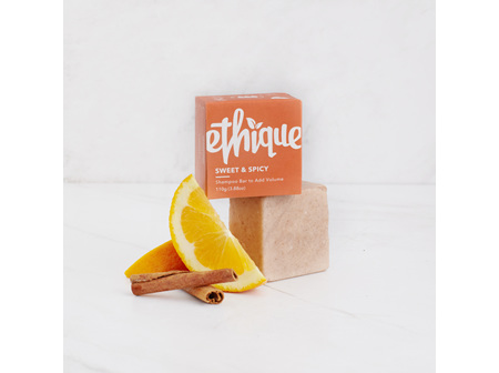 Ethique Sweet & Spicy Solid Shampoo