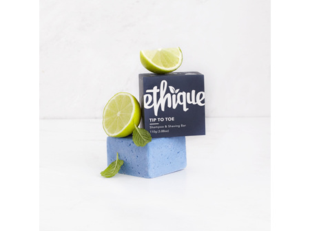 ETHIQUE Tip-to-Toe Shampoo & Shaving Bar 110g