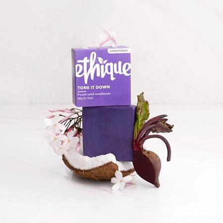 ETHIQUE Tone It Down Purple Cond 60g