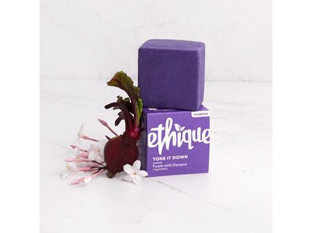 Ethique Tone It Down Purple Solid Shampoo