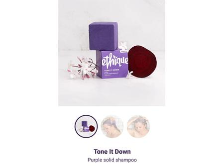 ETHIQUE Tone It Down Purple Spoo 110g