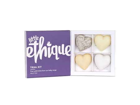 Ethique Trial Pack for Little Ones - 4 Solid Minis 60g