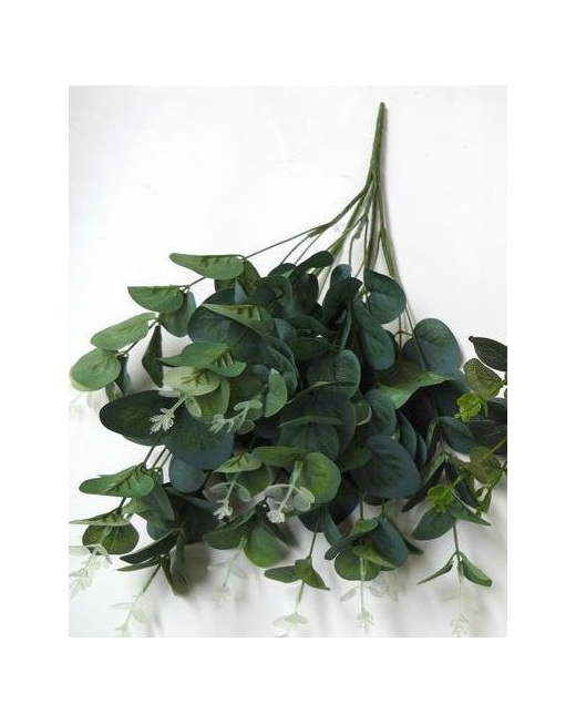 eucalyptus spray silk artificial fake bushy